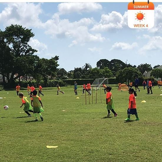 Picture of ⚽Summer  Camp:Week 4(June 22-26) @YMCA  Boca Raton: Boys & Girls-Ages 5-13